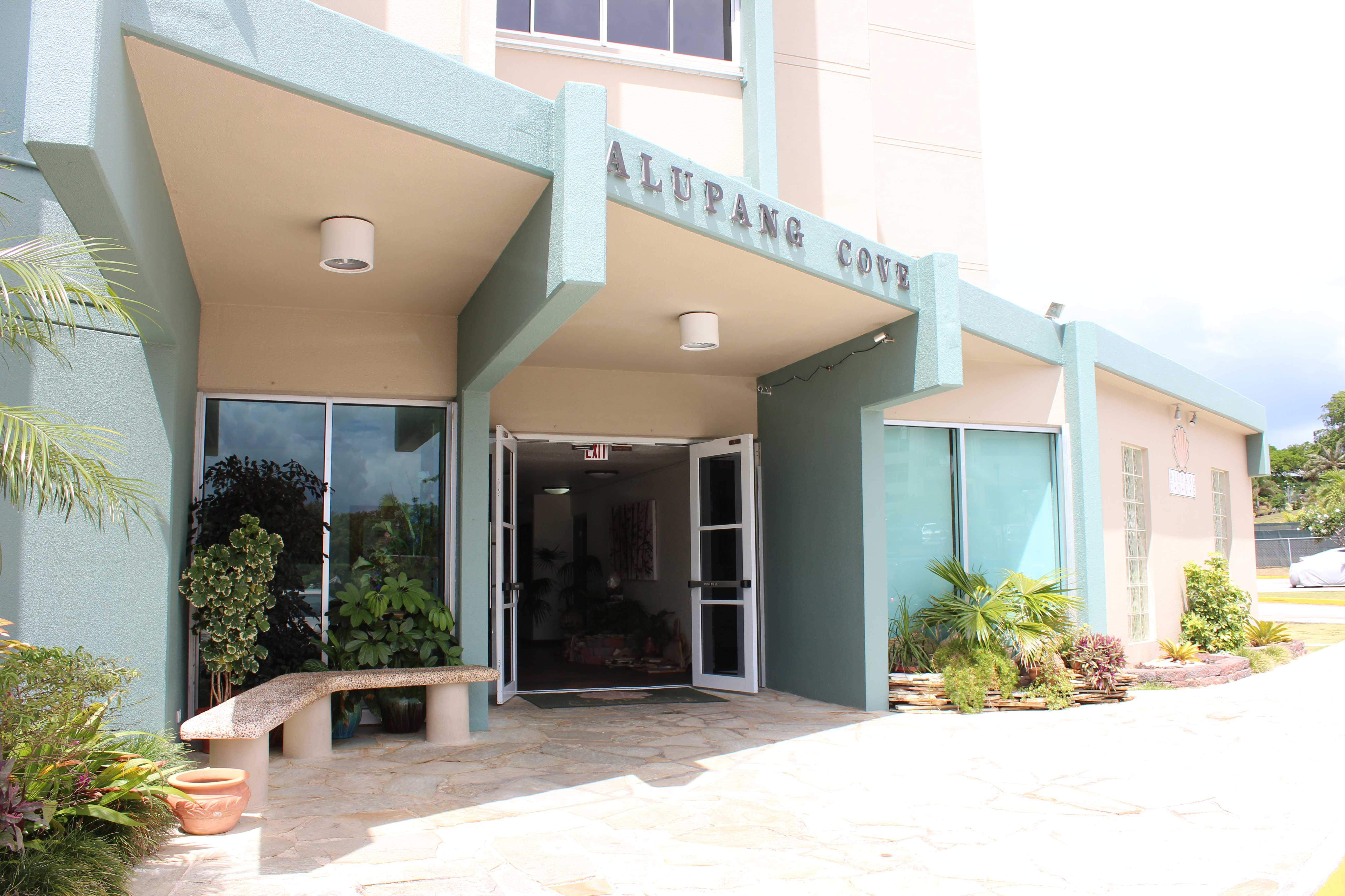Alupang-Cove-Condo-Guam-Entrance